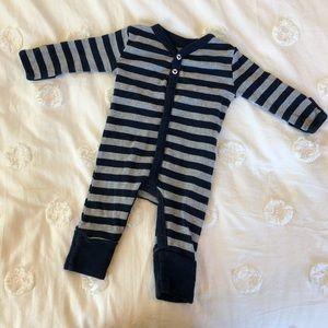 Burt's Bees Baby Striped One-Piece